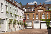 Mews Houses in London — Stock Photo