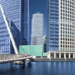 Canary Wharf Panorama — Stock Photo