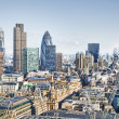City of London`s skyline — Stock Photo #3917803
