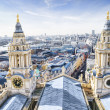 City of London and St. Paul`s Cathedral. — Stock Photo #3917870