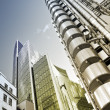 Lloyd's and Willis Building, London. - Stock Photo