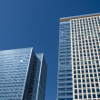 Office Buildings in Canary Wharf. - Stock Photo