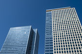 Office Buildings in Canary Wharf. — Stock Photo