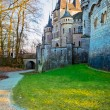 Tower of ancient castle Marienburg, Germany — Stock Photo #3829078