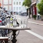 The street scene in Amsterdam — Stock Photo #3829118