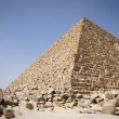 Stock Photo: Pyramid of Menkaurae