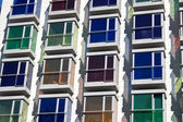 Stained-glass windows of color — Stock Photo