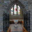 Stock Photo: Inside church