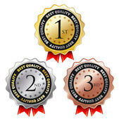 Award labels. — Stock Vector