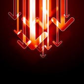 Abstract arrows background. — Vettoriale Stock
