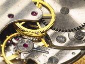 Widok szczegółów zegara wahadłowego — Zdjęcie stockowe