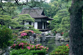 Japanese landscape garden — Stock Photo
