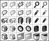 Groupware icon (vector) — Stock Vector