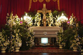 Funeral service in the Philippines — Stock Photo