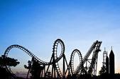 Roller coaster — Photo