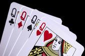 Spel kaarten — Stockfoto