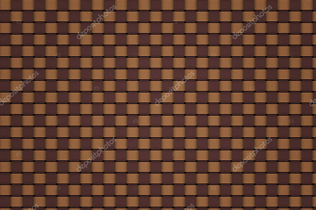 Louis Vuitton pattern weave - Stock Image