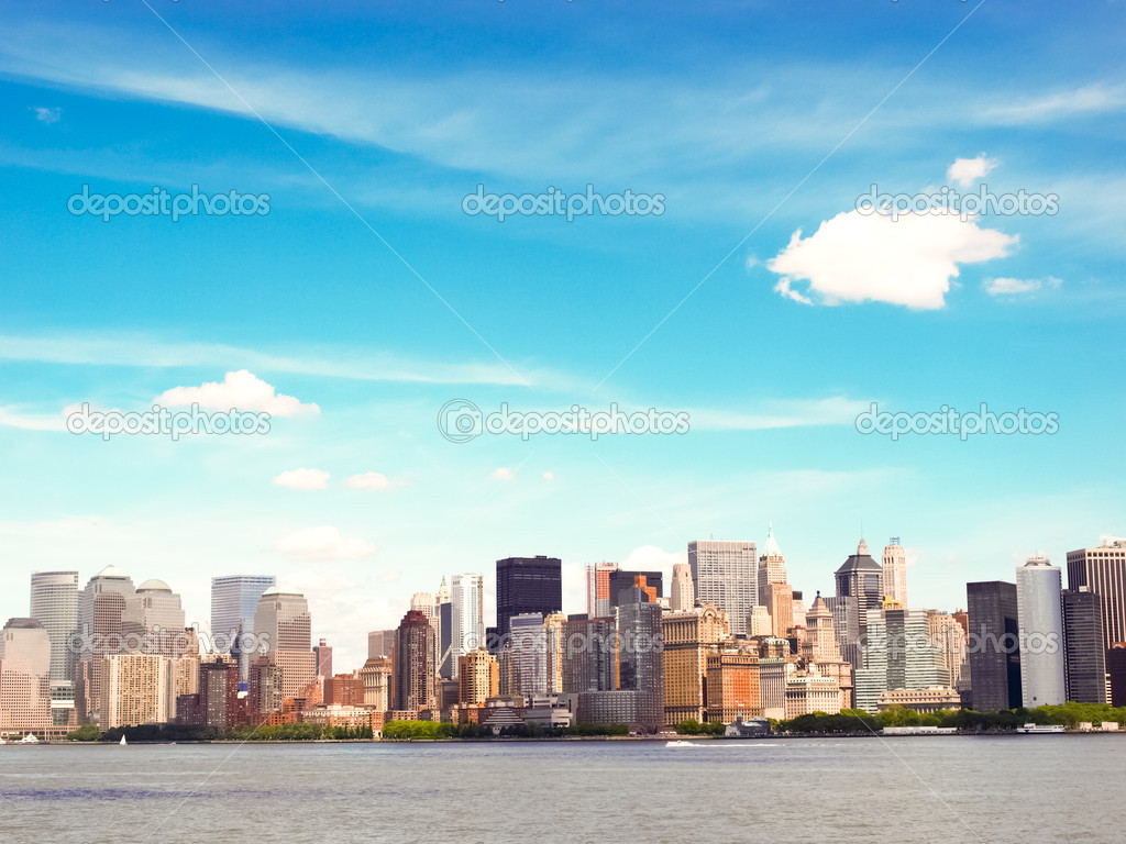 Boston City Skyline — Stock Photo #3807236