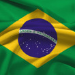 Brasil flag — Stock Photo