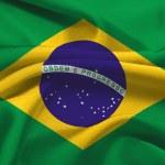 Brasil flag — Stock Photo