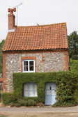 Quaint Norfolk cottage — Stok fotoğraf