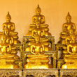Golden buddha — Stock Photo #3868093
