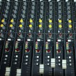 Royalty-Free Stock Photo: Mixing console in a recording studio