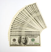Two Thousand Five Hundred Bills — Stock Photo