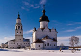 Cold winter sunday in Sviyazhsk — Foto Stock