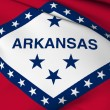 Royalty-Free Stock Photo: Arkansas flag - USA state flags collection