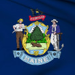 Maine flag - USA state flags collection — Foto de Stock