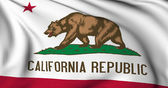 California flag - USA state flags collection — Stock Photo
