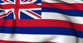 Bandera de hawaii - estado usa banderas colección — Foto de Stock