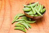 Snap Peas — Stockfoto