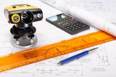 Construction Measurement — Stock Photo
