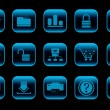 Royalty-Free Stock Vectorielle: Website and internet icons