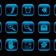Toolbar and Interface icons — Stock Vector