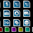Sale and Shopping icons — Stock Vector #3880137