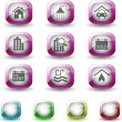 Real Estate icons — Stock Vector #3880194