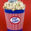 Royalty-Free Stock Photo: Popcorn and movies