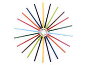 Pencil circle — Stock Photo