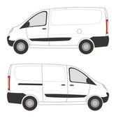 Peugeot эксперт — Cтоковый вектор