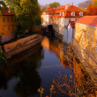 Prague Canal — Stock Photo