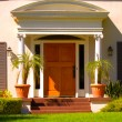 Elegant Entrance — Stock Photo
