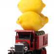 Royalty-Free Stock Photo: Truckload of Lemons