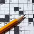 Crossword puzzle — 图库照片 #3846518
