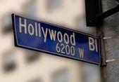 Hollywood Blvd — Stock Photo