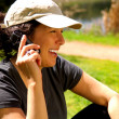 Woman On Phone — Stock Photo #3850880