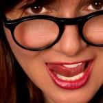Woman With Bifocals — Stock Photo #3851149