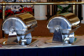 Voedsel warmers — Stockfoto